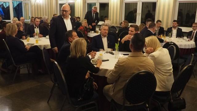 Wybory Parlamentarne 2019. Ogłoszenie wyników w sztabie PiS w Koszalinie