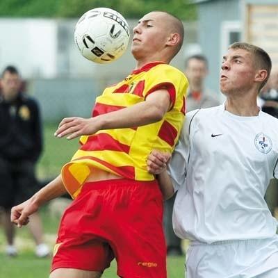 Michał Fidziukiewicz wie co trzeba zrobić z piłką