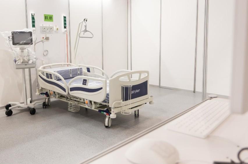 W poniedziałek otwarcie szpitala tymczasowego w Gdańsku! Placówka rusza w halach AmberExpo