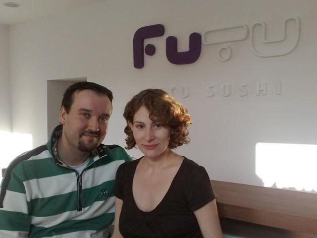 Magdalena i Bartłomiej Rothe - właściciele Futu Sushi