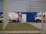 Szpital tymczasowy w Łodzi gotowy na przyjęcie 272 pacjentów. Ponad 50 osób z tej placówki już wróciło do domu, bo wyzdrowieli