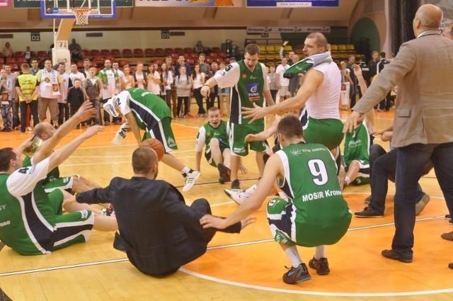 Tego w Krośnie jeszcze nie było – MOSiR awansował do finału play off zaplecza ekstraklasy.