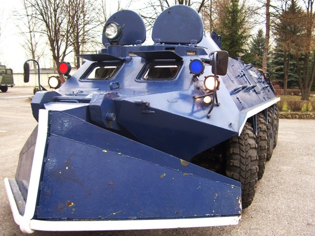 Transporter opancerzony BTR 60 PB