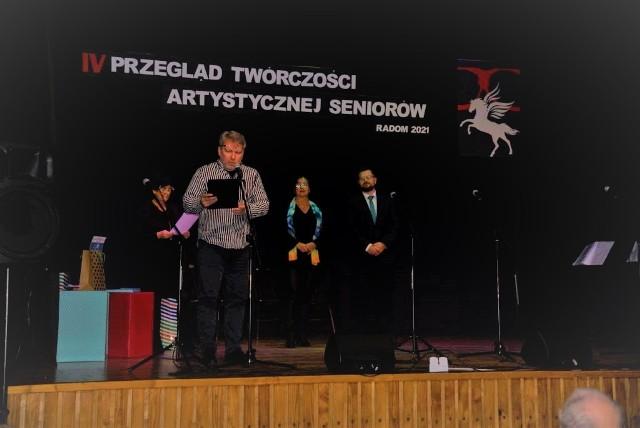 Grzegorz Molenda odczytał protokół jury.
