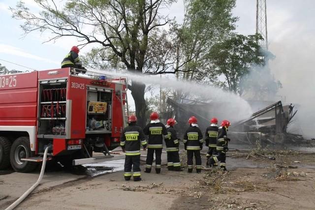 Żadna z 15 ewakuowanych osób nie została poszkodowana