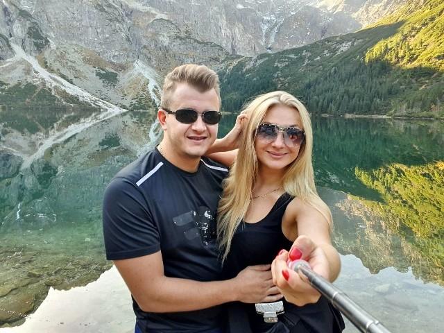 Dawid Narożny ze swoją ukochaną w Zakopanem. Wrzucił na Facebooka nowe zdjęcia z wyjazdu