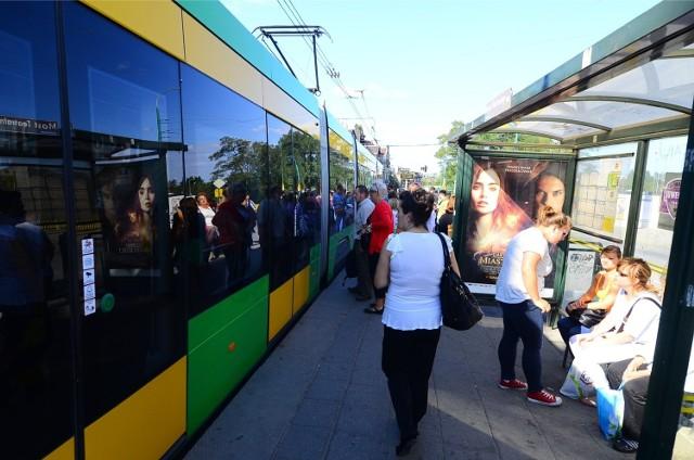 Poznań: Tramwaje linii 5, 8, 11, 12 i 14 jeżdżą zmienioną trasą