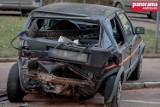 Wałbrzych: Pijany 24-latek za kierownicą. Uszkodził kilkanaście samochodów [ZDJĘCIA]