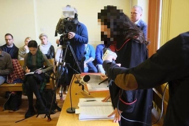 Prokurator Sylwia Cz. podczas jednej z rozpraw.