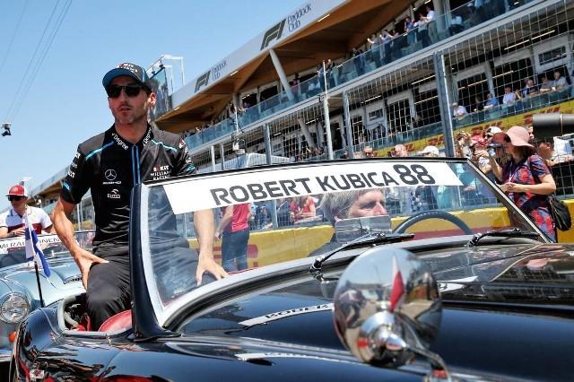 Robert Kubica to jeden z trzech kierowców bez punktów w sezonie.