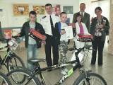 Orla wygrała konkurs Nasze bezpieczeństwo. Uczniowie dostali rowery