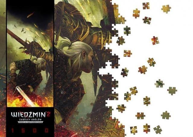 Wiedźmin 2: Zabójcy KrólówWiedźmińskie puzzle