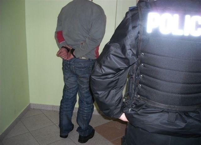 37-letni bandyta został zatrzymany w Łomży