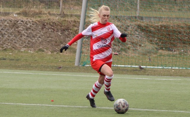 Elin Lindstroem zdobyła dwa gole w pojedynku z zespołem z Wodzisławia Śląskiego. To pierwsze trafienia Finki w barwach Resovii