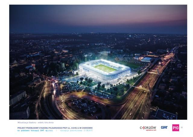 Ruch Chorzów będzie miał nowy stadion