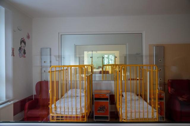 Zmodernizowany Oddział Pediatrii i Neurologii Dziecięcej w Śniadecji.
