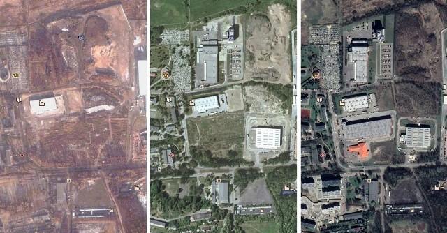 Tak zmieniał się krajobraz Sosnowca. Na zdjęciu Milowice w 2003, 2009 i 2019 roku. Zobacz jak zmieniał się Sosnowiec. Przesuń zdjęcia w prawo - wciśnij strzałkę lub przycisk NASTĘPNE