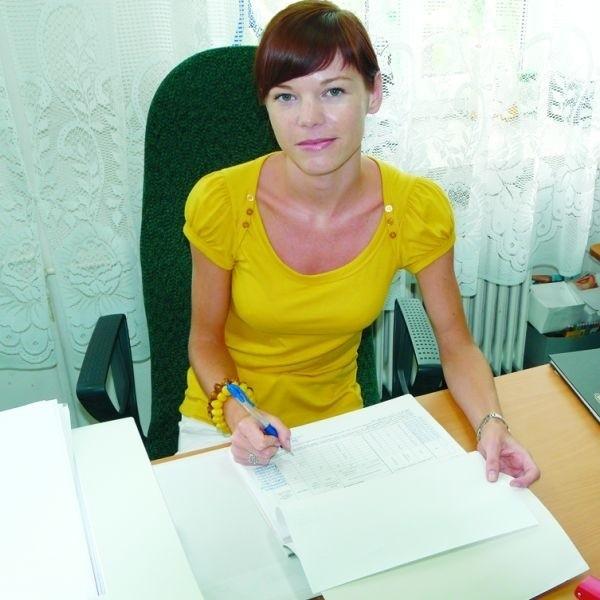 Magdalenę Halicką młodzi ludzie na razie proszą o pomoc w poszukiwaniu pracy wakacyjnej