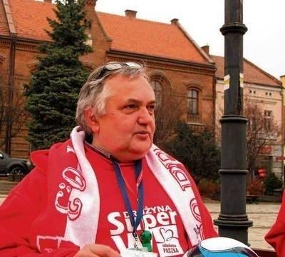 """Jan Płoszczyca udzielał się także w """"Szlachetnej Paczce"""". Fot. Maciej Hołuj"""