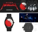 Zegarki Metallica dla fanów: To efekt współpracy z firmą Nixon. Kiedy zegarki Metalliki będą dostępne w sprzedaży?