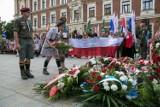 Kraków. Upamiętnili wybuch Powstania Warszawskiego [ZDJĘCIA]
