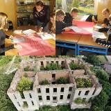 """Uczniowie ze Słońska chcą uratować """"swój"""" zamek od zapomnienia"""