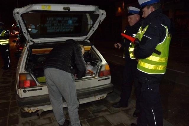 Policyjna akcja Dyskoteka. 151 kierowców ukaranych mandatami