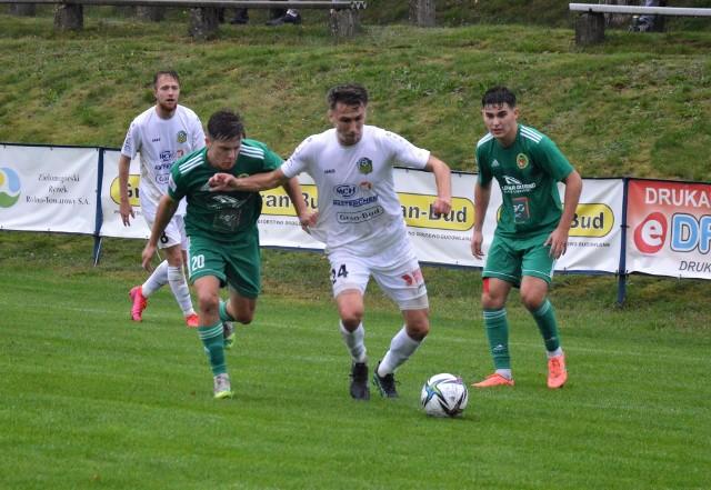 Piłkarze Lechii Zielona Góra przegrali z Foto-Higieną Gać 0:2.