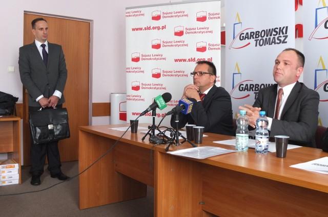 Janusz Kowalski wystąpił na konferencji jako dziennikarz prawicowego portalu.