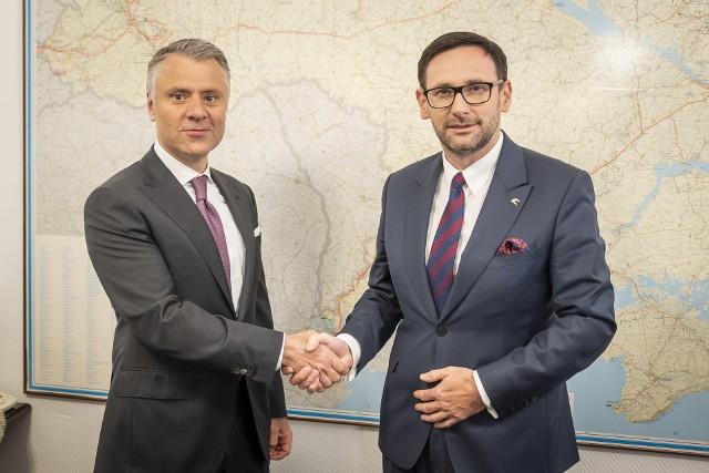 PKN ORLEN coraz mocniej spogląda na Ukrainę. Prezes Daniel Obajtek zapowiada zacieśnienie współpracy z tym krajem