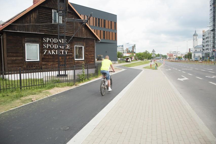 Nowe ścieżki rowerowe w centrum Białegostoku są już prawie...