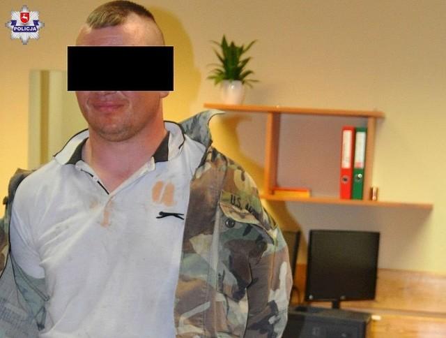 31-letni włamywacz został zatrzymany i osadzony w policyjnym areszcie