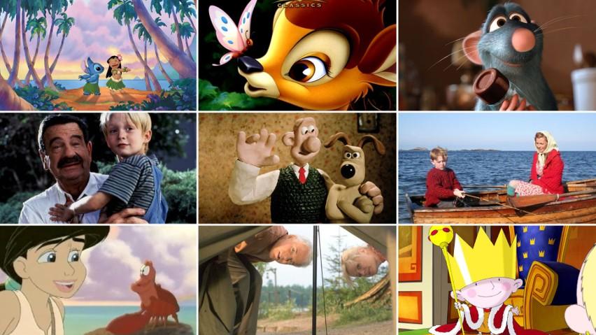 Szukasz bajek i filmów wolnych od przemocy dla najmłodszych? Chcesz, aby Twoja pociecha dobrze się bawiła, a jednocześnie pożytecznie wykorzystała czas spędzony przed telewizorem? Specjalnie dla Was przygotowaliśmy listę TOP 20 filmów dla dzieci, które nie zawierają gorszących treści! A wszystko to w oparciu o ranking filmów familijnych i rodzinnych bez przemocy i wulgaryzmów na portalu Oceńfilm.pl.