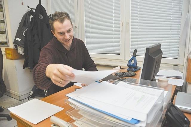 Znam angielski i niemiecki, jednak firma poszukiwała osoby znającej język rosyjski – mówi Adam Rydzewski, student