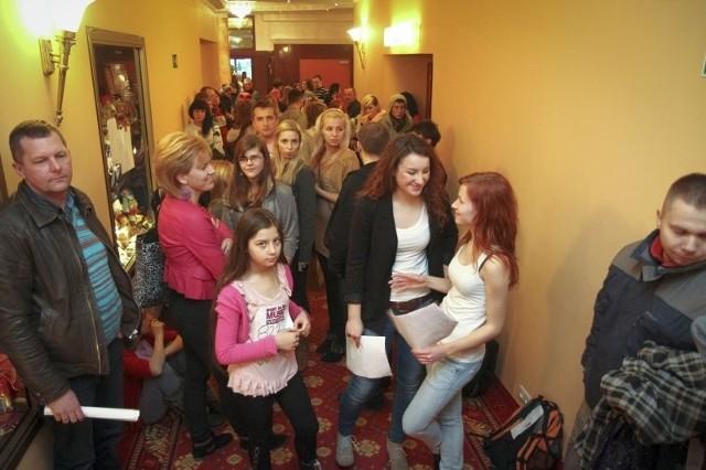 W programach typu talent show nie ma ograniczeń wiekowych. Na casting do popularnego programu muzycznego w 2011 roku do Białegostoku przyjechały tłumy.