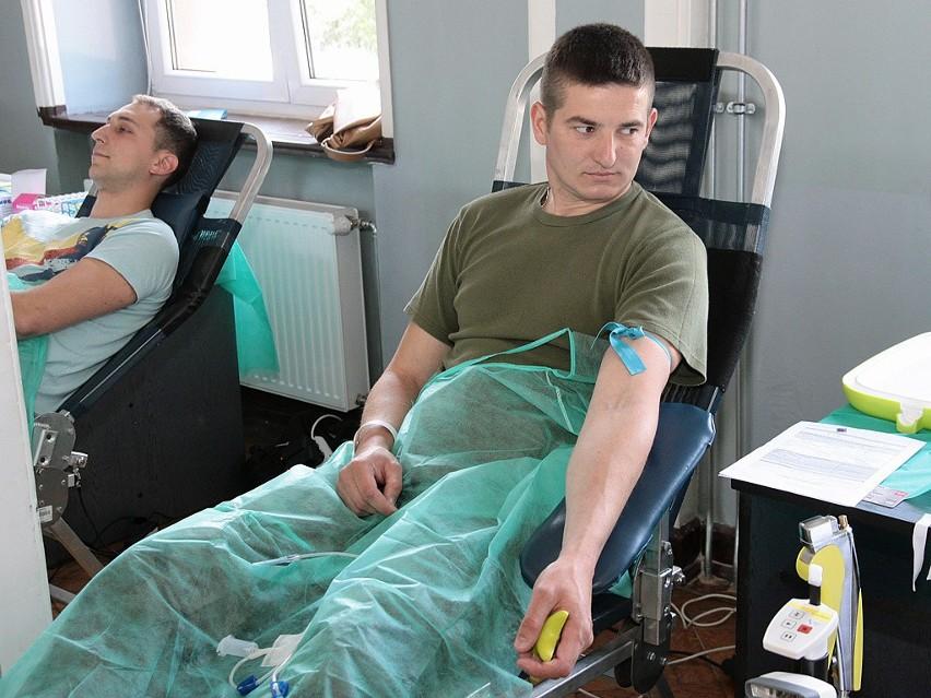 """""""Twoja Krew - Moje Życie"""" akcja poboru krwi w Grud..."""