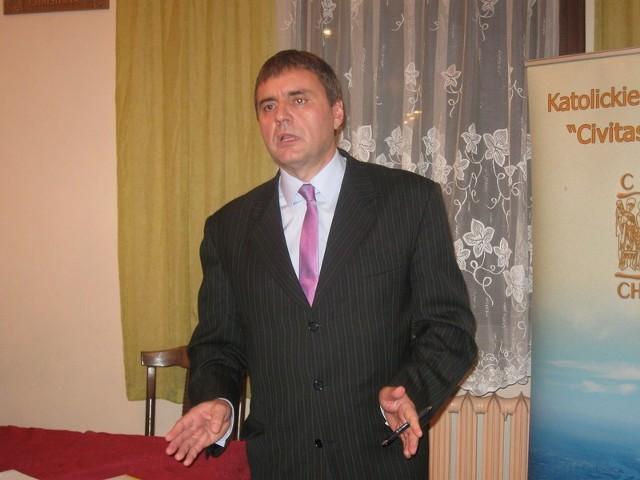 - Chcę rządzić w innym stylu - powiedział Dariusz Grochla.