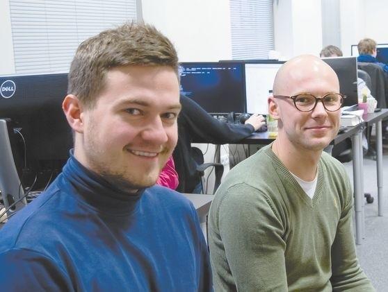Im się udało. Leviteo - postawili na nowe technologieFirma Leviteo, którą wspólnie prowadzą Artur Czemiel (z lewej) i Robert Ołtarzewski, rozwija się dynamicznie