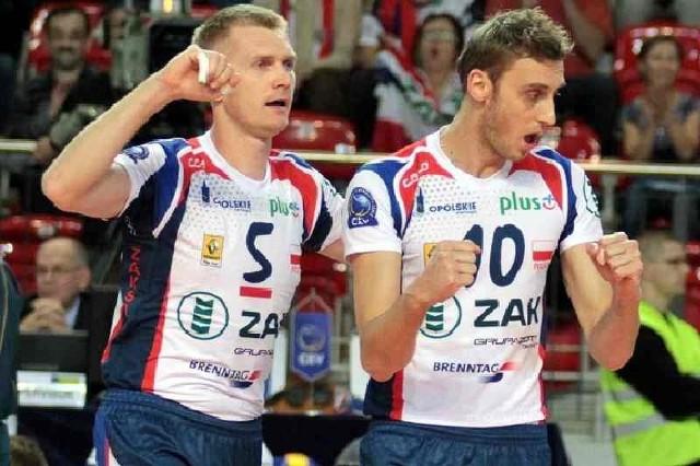 Paweł Zagumny i Guillaume Samica mogą świętować siódmą wygraną.