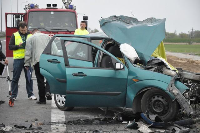Do wypadku doszło na trasie S3 na obwodnicy Gorzowa.