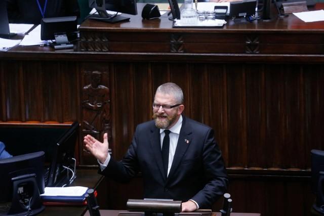Minister zdrowia złożył zawiadomienie do prokuratury na Grzegorza Brauna