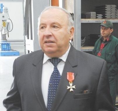 Pronar nie płacił wszystkim wynagrodzenia na czas12 października Pronar otworzył w Siemiatyczach swój kolejny zakład produkcyjny (na zdj. prezes Sergiusz Martyniuk). Wkrótce po tym – 24 października – do firmy w Narwi weszli inspektorzy inspekcji pracy.