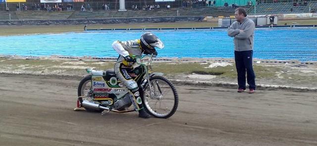 Na zdjęciu Grzegorz Zengota