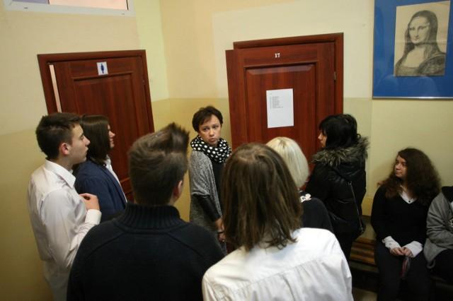 Gimnazjum nr 2 w Sopocie - próbny egzamin gimnazjalny z Operonem (9.12.2014)