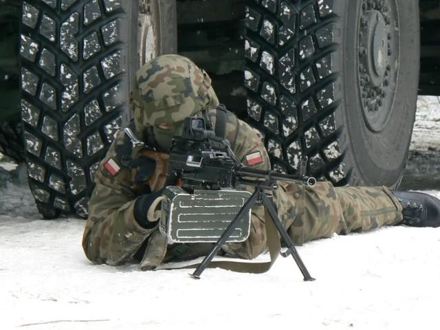 Żołnierze 12 Dywizji Zmechanizowanej szlifują tu wojenne rzemiosło. Wkrótce przyjdzie im rozpocząć przygotowania do udziału w X zmianie PKW w Afganistanie. Na zdjęciu: zajęcia taktyczne 12 Brygady Zmechanizowanej ze Szczecina.