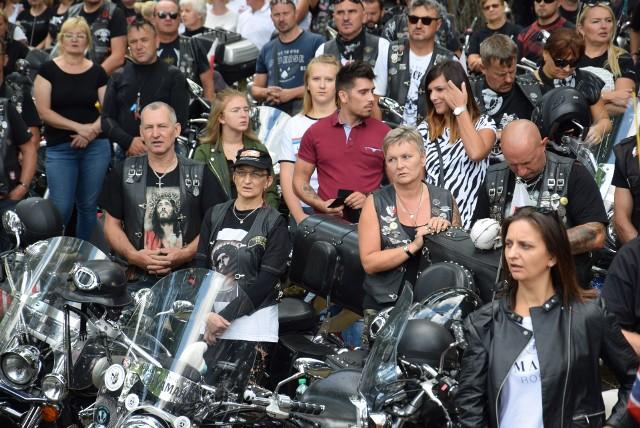 Pielgrzymka motocyklistów na Górę św. Anny