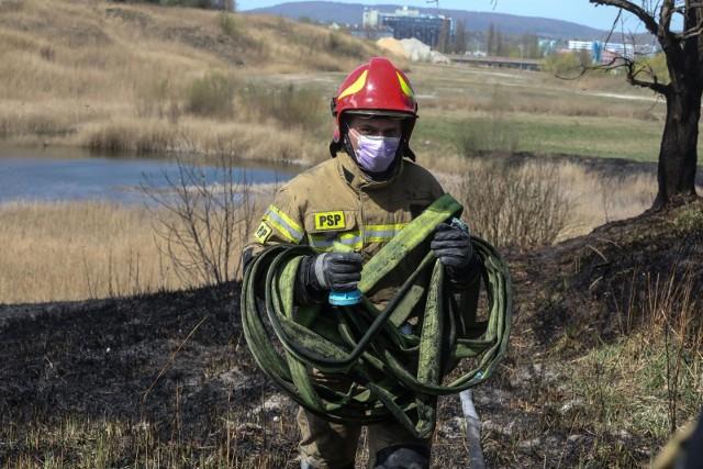 W 2020 roku podczas akcji ratowniczych związanych z gaszeniem pożarów traw zużyto 139 735 754 litrów wody, co odpowiada pojemności 37 basenów olimpijskich.