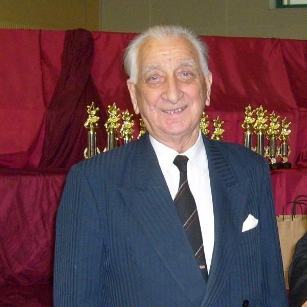 Jerzy Mierzwa był legendą  tańca towarzyskiego.