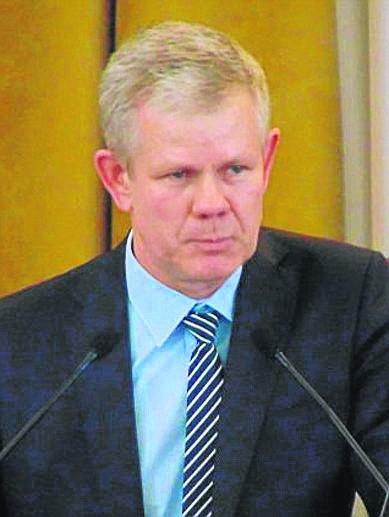 Adam Kaźmierczak, prezes ŁZPN