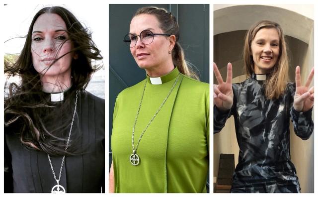 Ubrania z kolekcji Casual Priest, szwedzkiej marki przeznaczonej głównie dla kobiet księży.Zobacz kolejne zdjęcia. Przesuwaj zdjęcia w prawo - naciśnij strzałkę lub przycisk NASTĘPNE